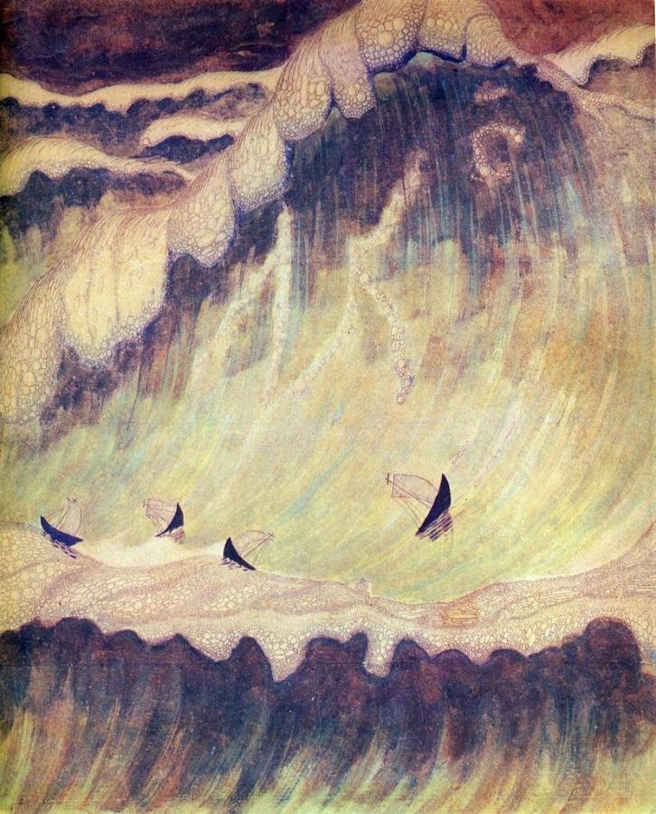 Соната моря Чюрлёнис