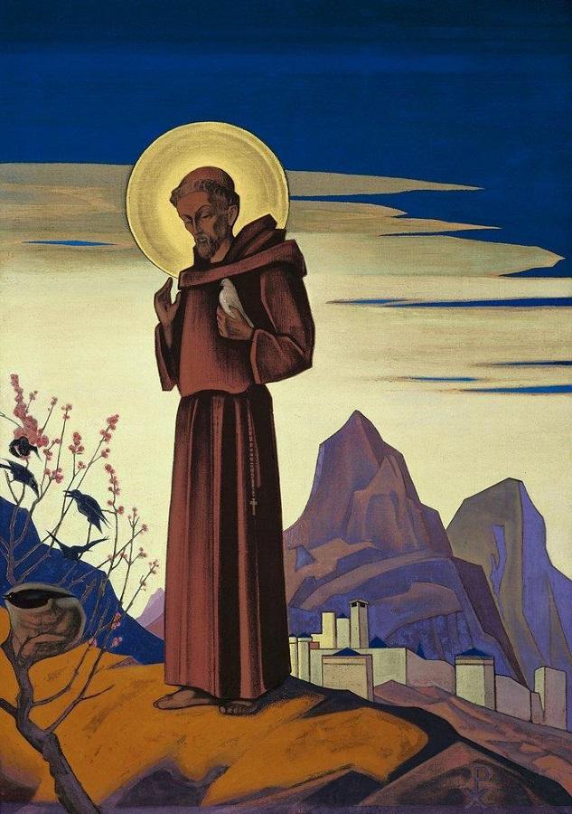 saint-francisc Н. Рерих