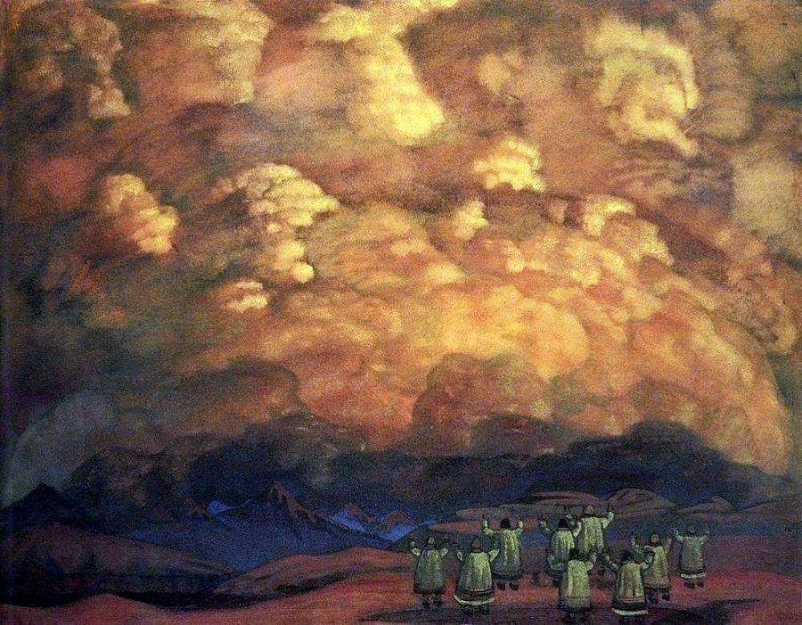 Веления неба, 1915