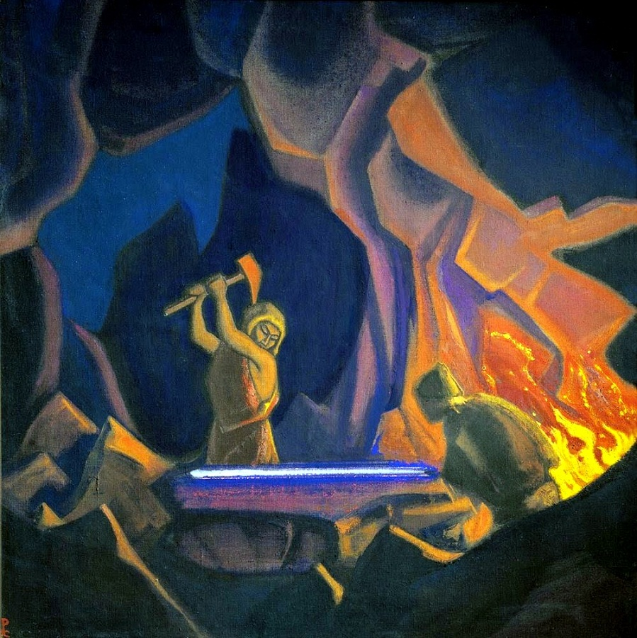 Ковка меча (Нибелунги). 1941