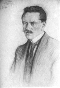 Портрет Юргиса Балтрушайтиса
