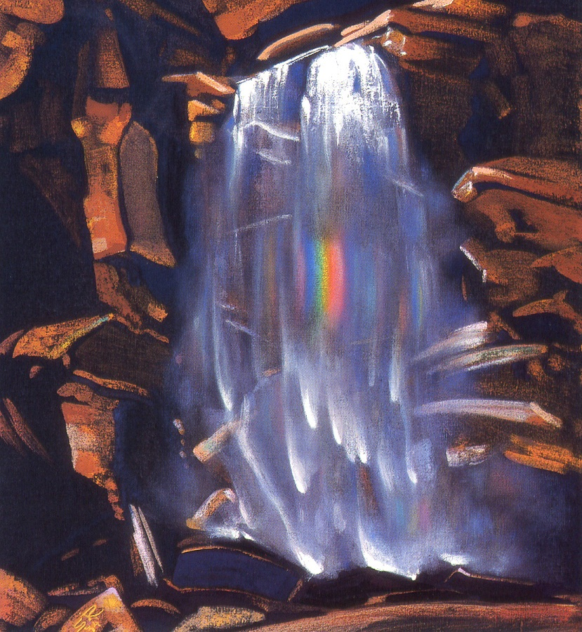 Радуга водопада
