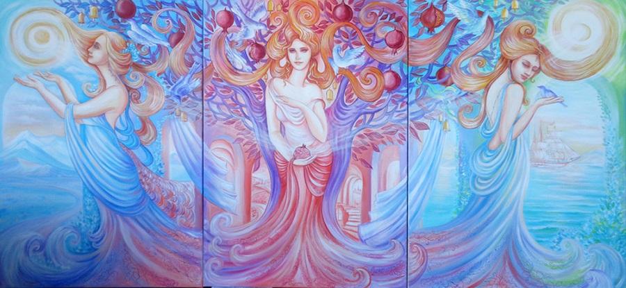 триптих Светланы Соловьёвой