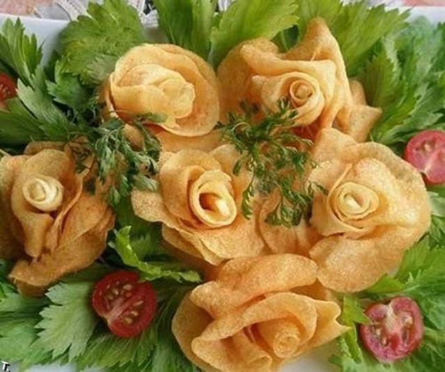5.-розы из картошки
