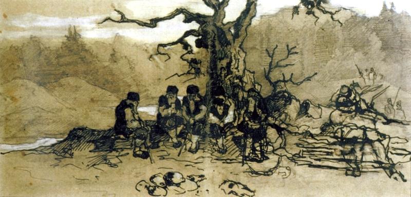 4 - рис Сходятся старцы