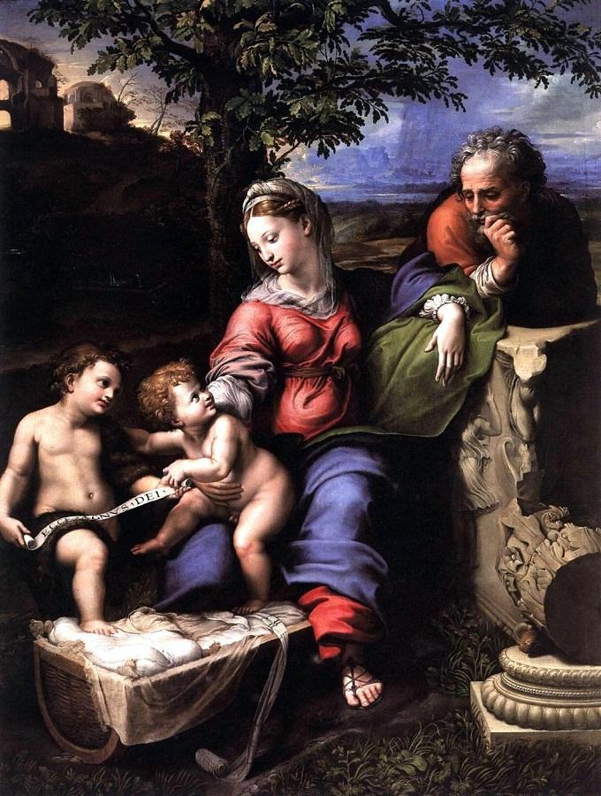 5 - Рафаэль Святое семейство под дубом